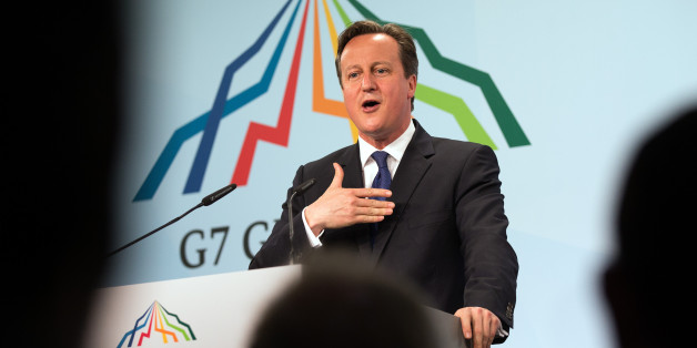 GARMISCH-PARTENKIRCHEN, GERMANY - JUNE 08: Britain's Prime Minister David Cameron speaks at a press conference at the end of the summit of G7 nations at Schloss Elmau on June 8, 2015 near Garmisch-Partenkirchen, Germany. In the course of the two-day summit G7 leaders are scheduled to discuss global economic and security issues, as well as pressing global health-related issues, including antibiotics-resistant bacteria and Ebola. Several thousand protesters have announced they will seek to march t