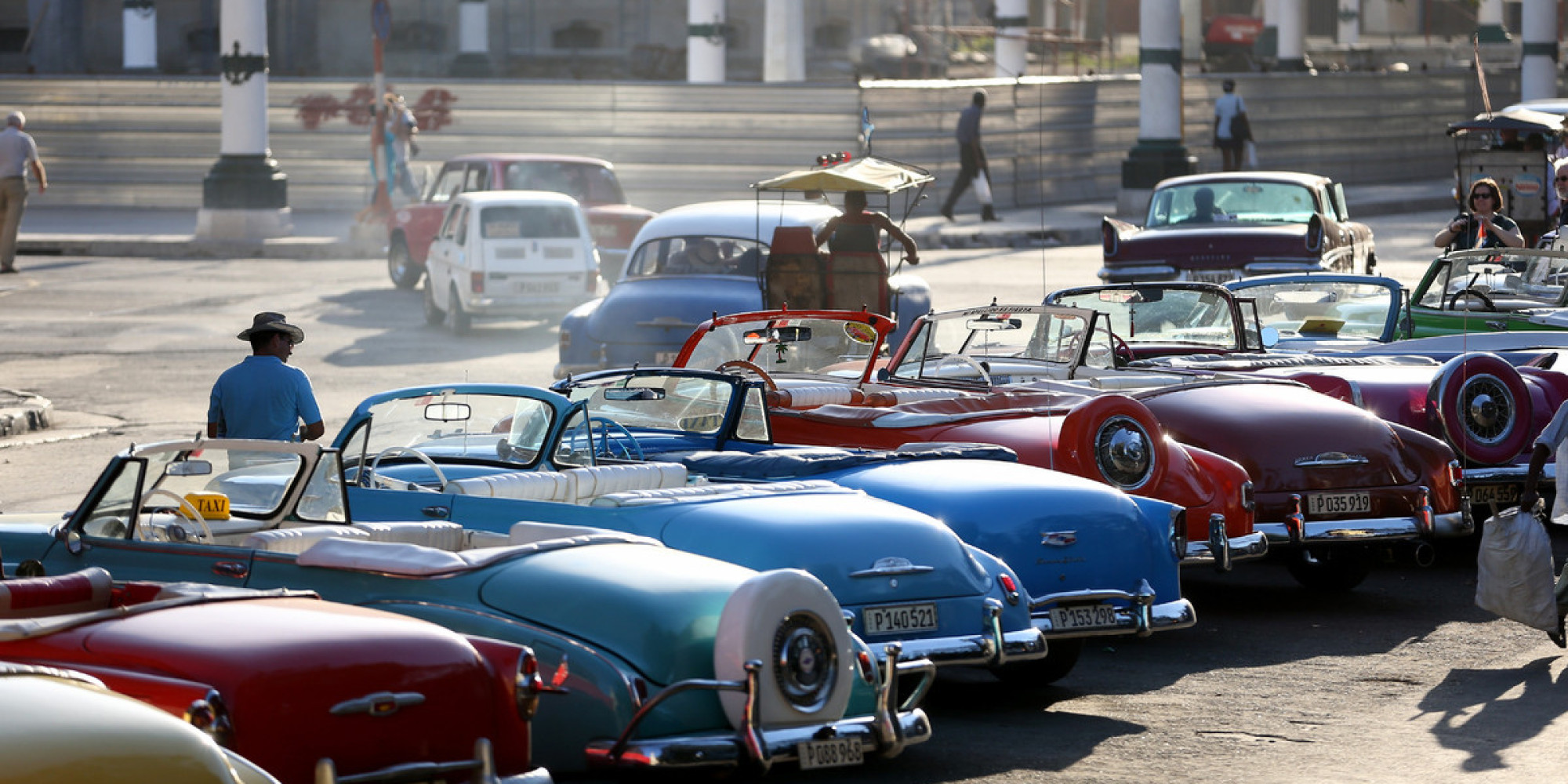 24 Hermosas Fotos De Los Almendrones En Cuba Huffpost