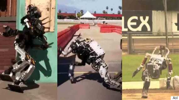 darpa 2015 robots falling over