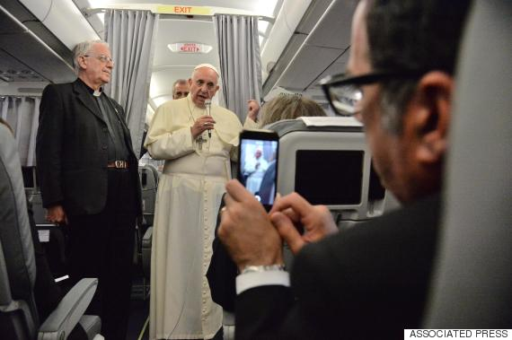 pope francis plane
