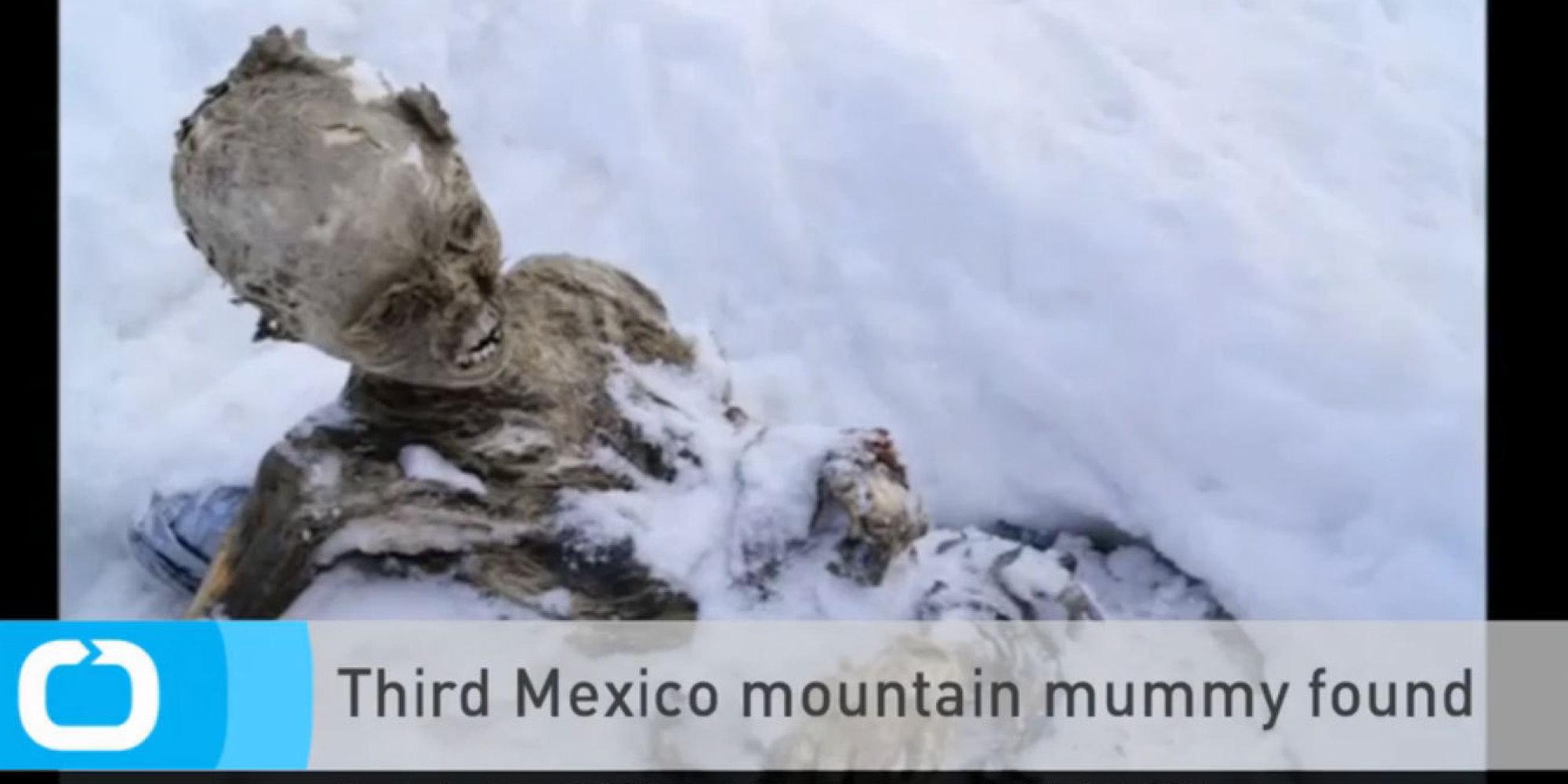 Pico De Orizaba Momias