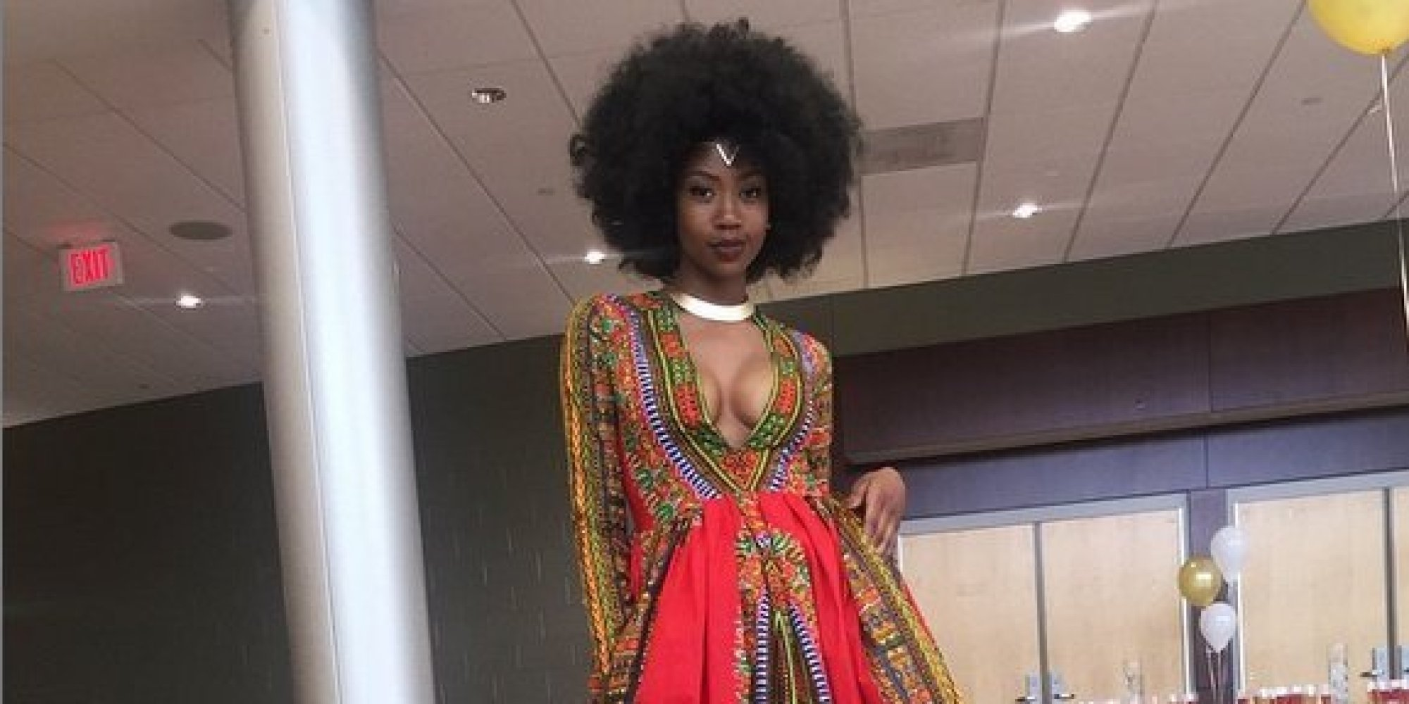 This Teen\'s Devastatingly Beautiful Prom Dress Is Her Own Design ...
