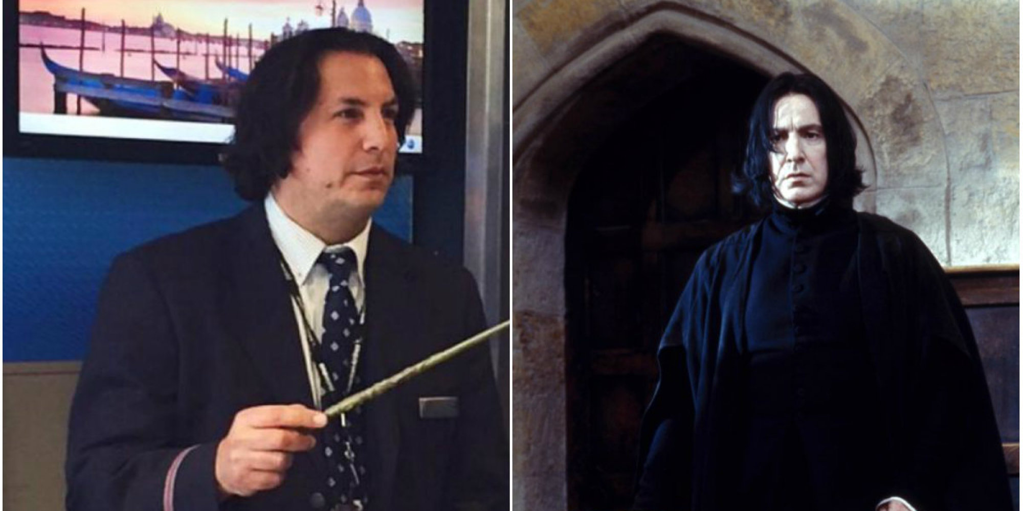Snape From Harry Potter Now Works For American Airlines