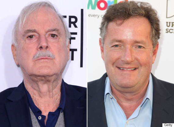 john cleese piers morgan
