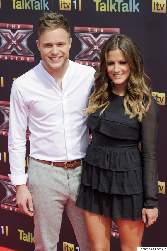 Who is caroline from xtra factor dating