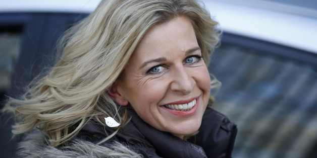 LONDON, UNITED KINGDOM - FEBRUARY 9: Katie Hopkins seen leaving the ITV Studios after an appearance on 'Loose Women' on February 9, 2015 in London, England. (Photo by Neil Mockford/Alex Huckle/GC Images)