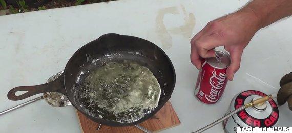 coke molten lead