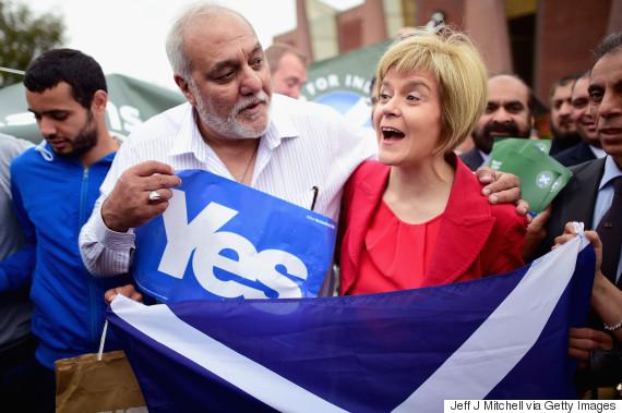 yes scotland snp