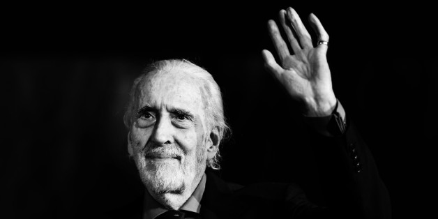 LOCARNO, SWITZERLAND - AUGUST 07:  (EDITORS NOTE: This image was processed using digital filters) Sir Christopher Lee attends 66th Locarno Film Festival opening ceremony on August 7, 2013 in Locarno, Switzerland.  (Photo by Vittorio Zunino Celotto/Getty Images)