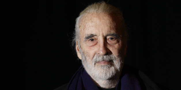 "FILE- In this file photo dated Friday March 5, 2010, British actor Sir Christopher Lee is photographed before his interview with APTN, at the AP office in north London. Christopher Lee, the prolific, aristocratic British actor who brought dramatic gravitas to the low-budget thrills of Hammer Studios' 1950s and 1960s horror films and to the more recent ""The Lord of the Rings"" trilogy and two of George Lucas' ""Star Wars"" prequels, has died at age 93, the Royal Borough of Kensington and Chelsea in London confirmed a death certificate was issued for Lee on June 8. (AP Photo/Joel Ryan)"