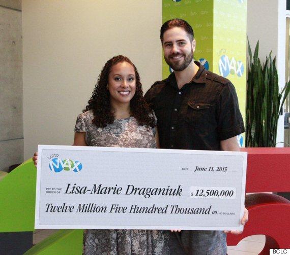 lisa draganiuk lottery winner
