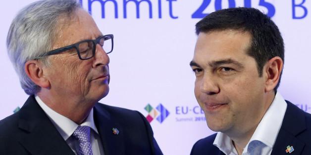 Ο πρωθυπουργός και ο πρόεδρος της Κομισιόν, Ζαν Κλοντ Γιούνκερ