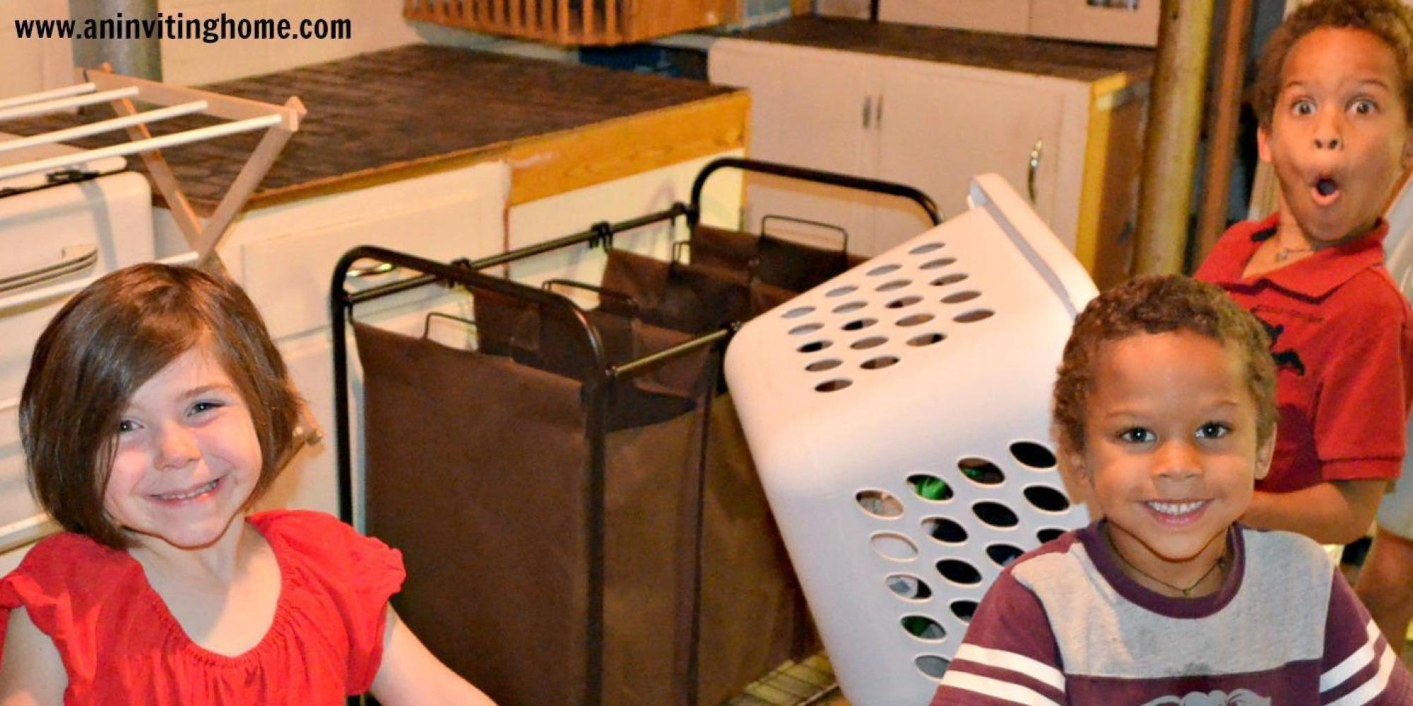 12 Laundry Secrets Of Super-Sized Families   HuffPost