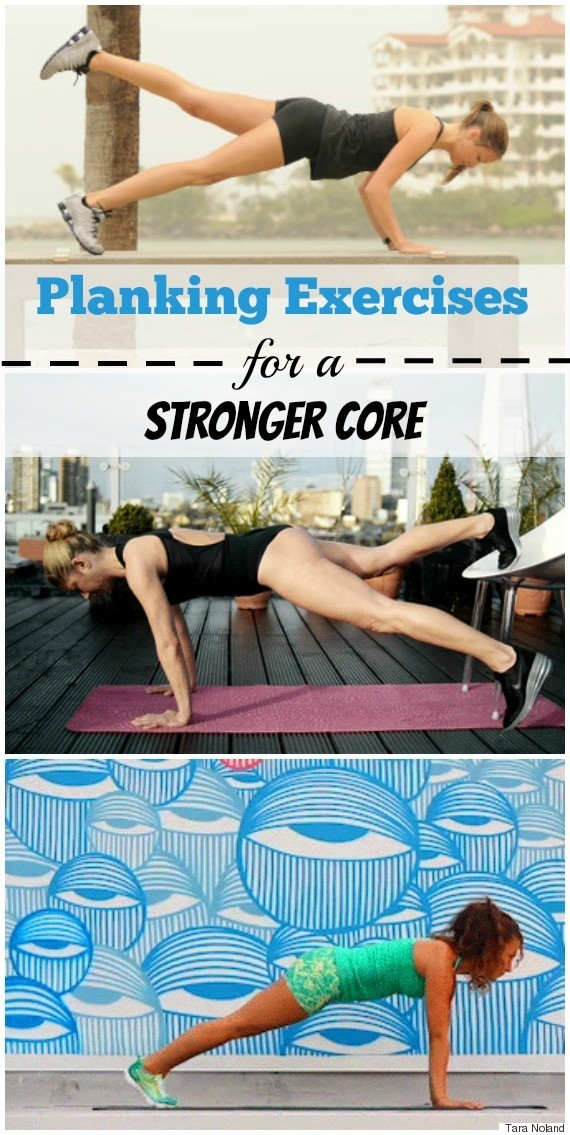 Plank Exercises For A Stronger Core