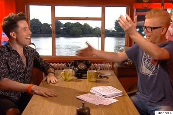 chris evans nick grimshaw tfi friday
