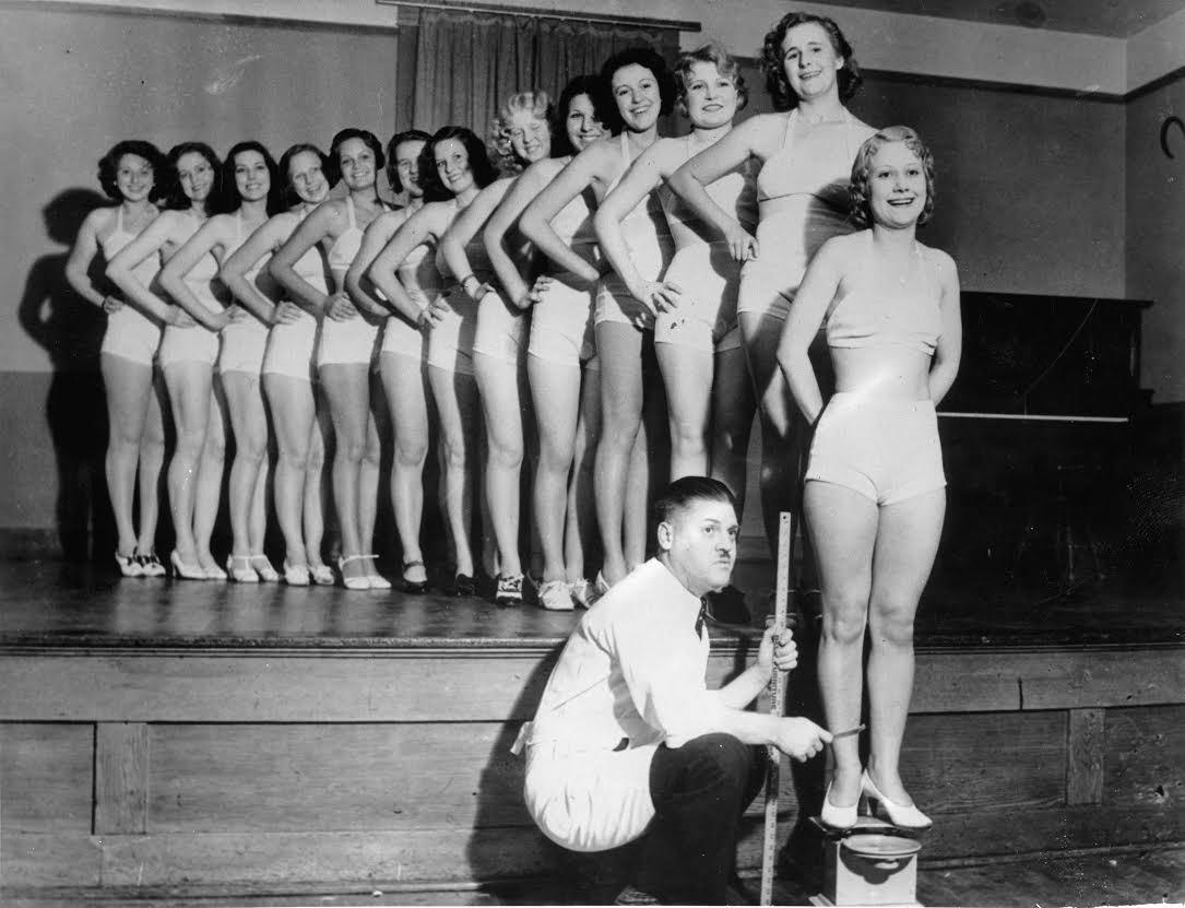 women on scales