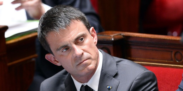 French Prime Minister Manuel Valls listens during a session of questions to the government at the French National Assembly  on June 10, 2015, in Paris. AFP PHOTO / BERTRAND GUAY        (Photo credit should read BERTRAND GUAY/AFP/Getty Images)