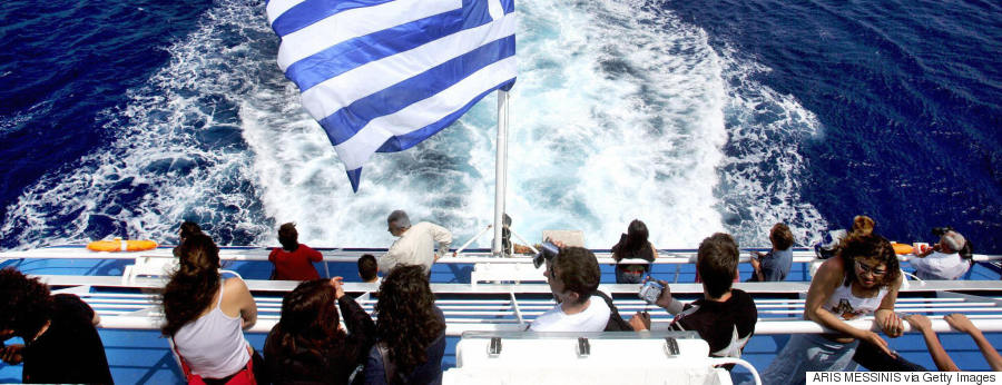 tourism islands ships greece