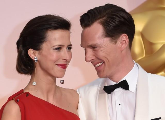 benedict cumberbatch et sa femme