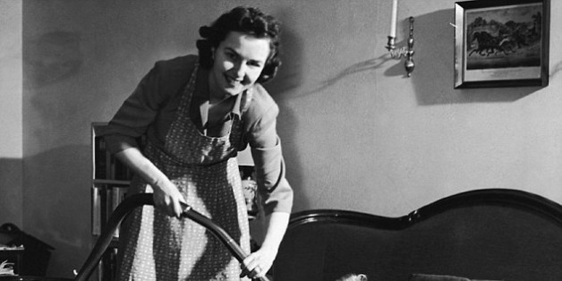 Despite it being the 21st Century, women still do most of the housework