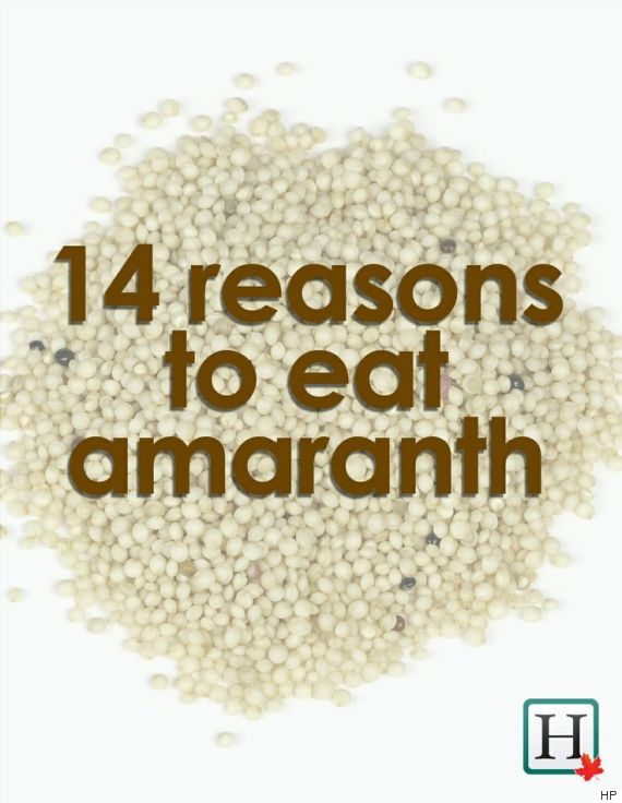 amaranth benefits