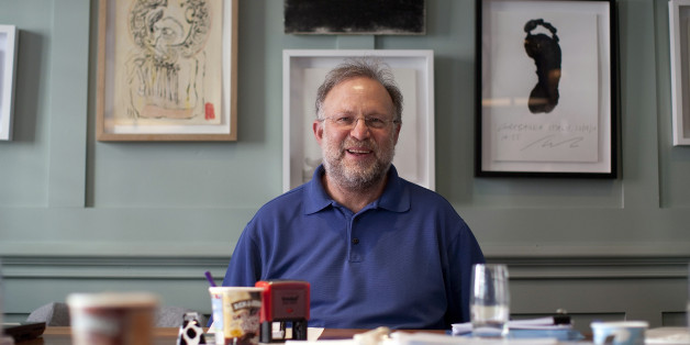 Jerry Greenfield, co-founder of Ben & Jerry's Homemade Inc. ice creams, poses for a photograph in London, U.K., on Tuesday, May 22, 2012. Unilever NV, parent of Ben & Jerry's, said costs for raw materials in 2012 will be 'slightly higher' than the mid-single-digit increase the company forecast in February, citing high prices for crude oil and vegetable oils. Photographer: Simon Dawson/Bloomberg via Getty Images