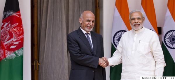 ashraf ghani india