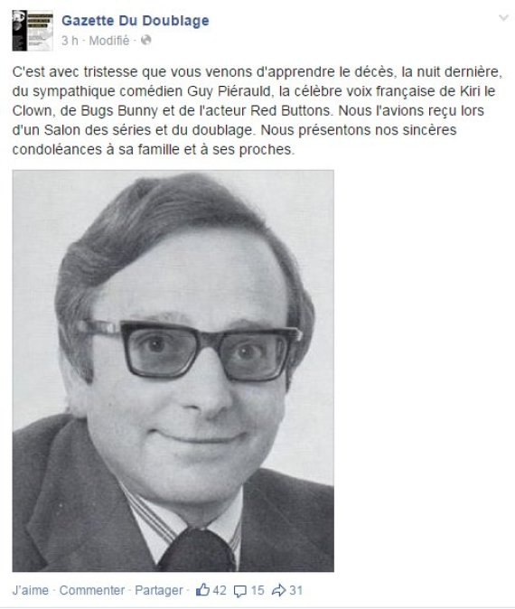 guy pierauld mort