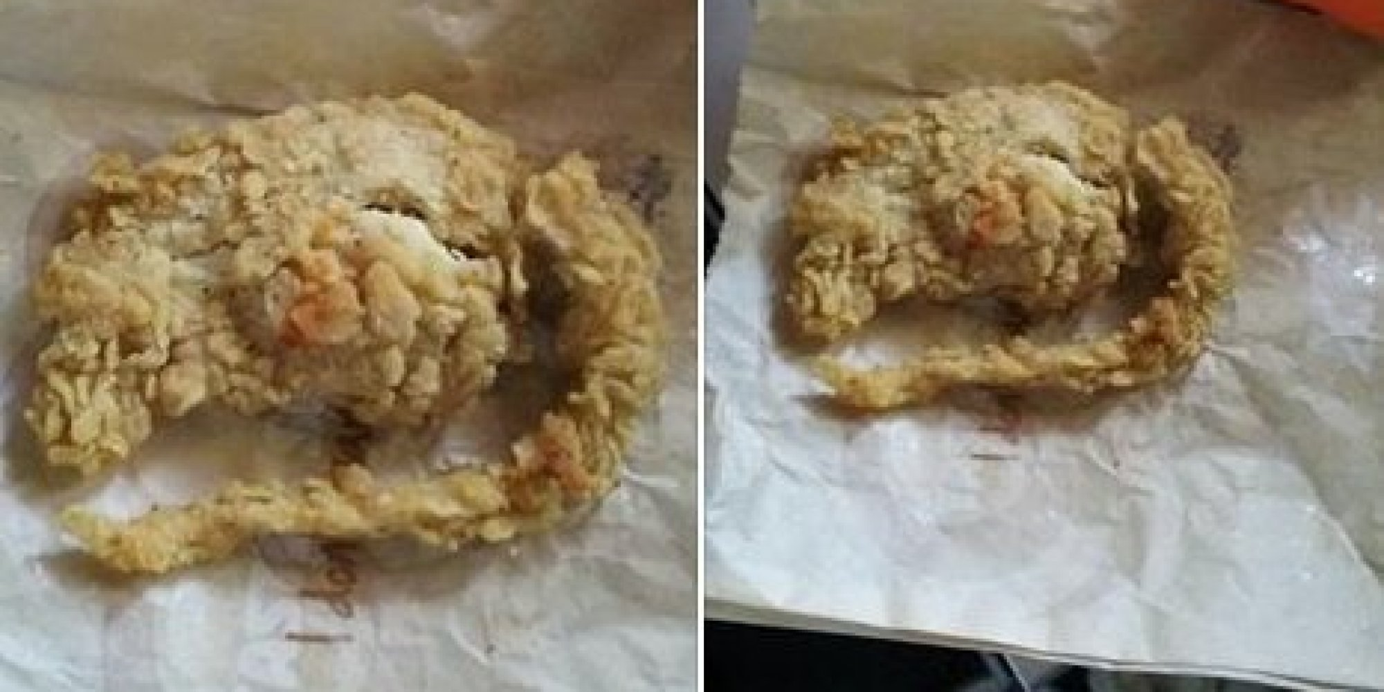 Kfc Says Fried Rat Is Just A Weird Looking Chicken Tender Huffpost