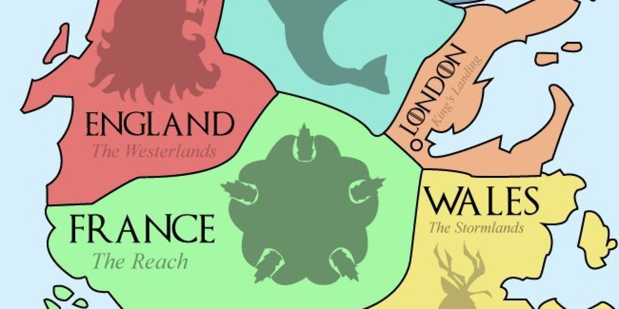 This map of westeros shows the european equivalents of the seven this map of westeros shows the european equivalents of the seven kingdoms huffpost gumiabroncs Images