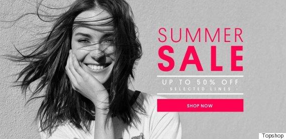 topshop sale