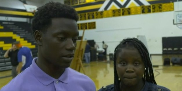 Chris and Camryn Singleton's mother Sharonda was killed in the attack on a church in Charleston