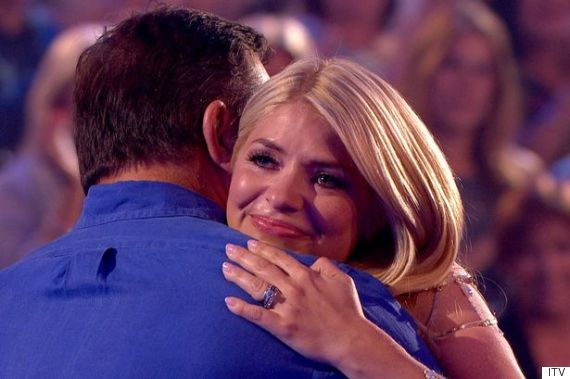 holly willoughby crying