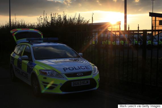 welsh police car