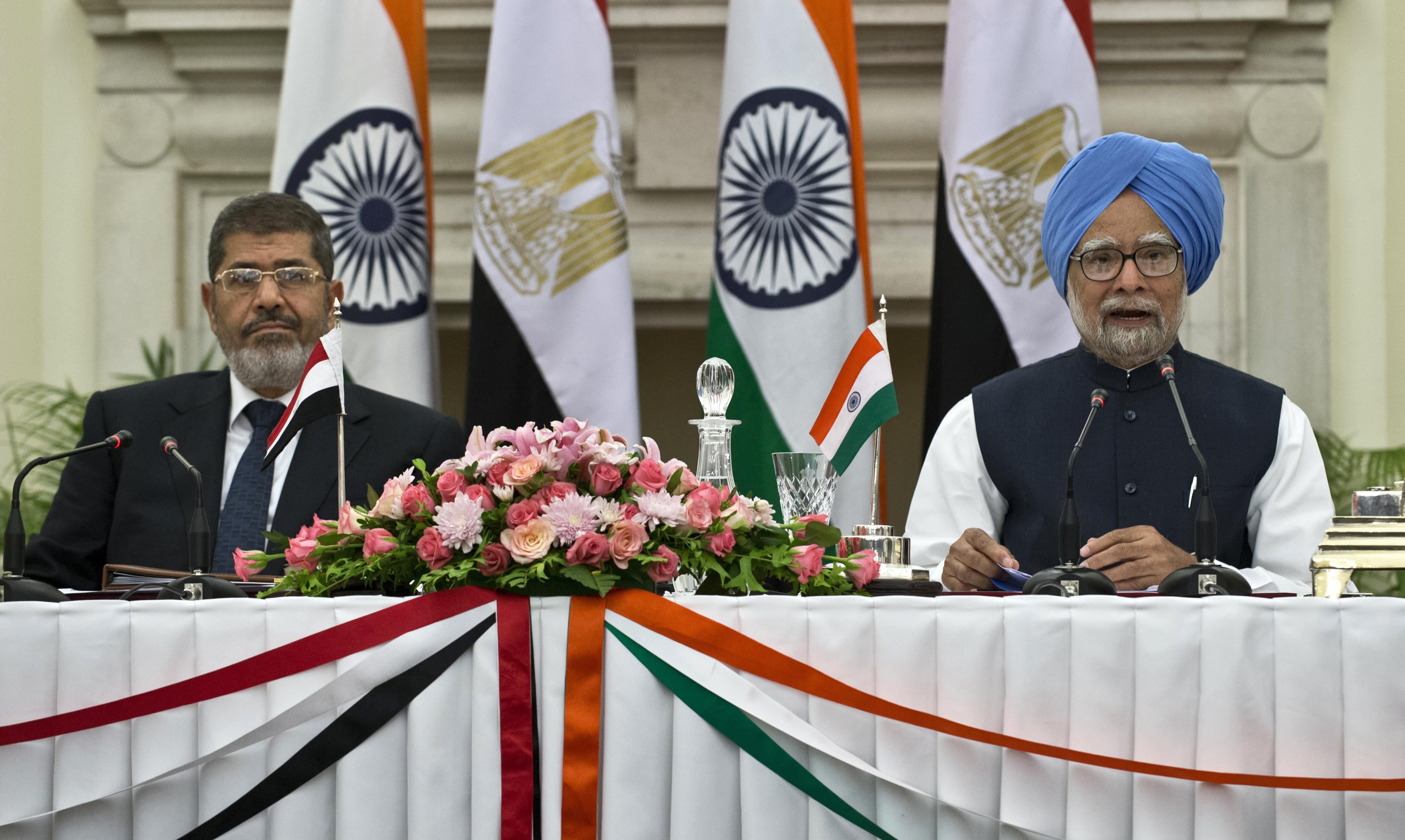 morsy india visit