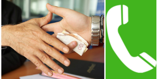 Le service de numéro vert anticorruption a du retard