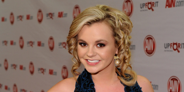 LAS VEGAS, NV - JANUARY 21:  Adult film actress and show host Bree Olson arrives at the 29th annual Adult Video News Awards Show at the Hard Rock Hotel & Casino January 21, 2012 in Las Vegas, Nevada.  (Photo by Ethan Miller/Getty Images)