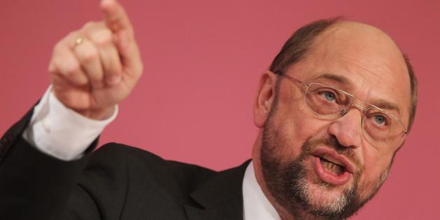 """Schulz: """"Was nicht geht: aus dem Euro ausscheiden und erwarten, dass die Mittel fröhlich fließen"""""""
