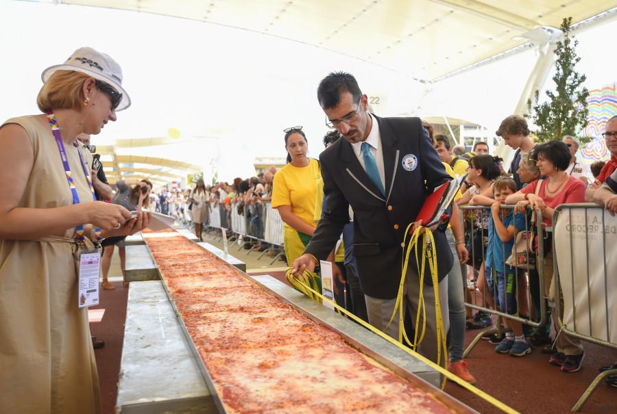 plus longue pizza