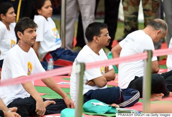 yoga day india