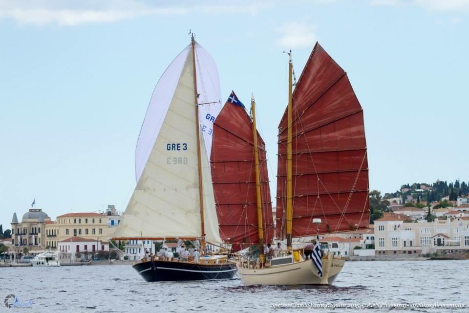 sailing spetses