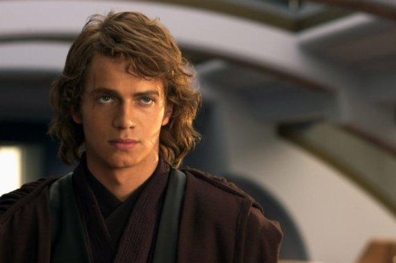 anakin skywalker hayden christensen