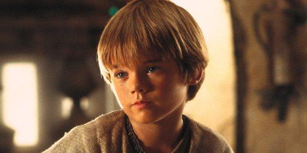 Anakin Skywalker dans le premier volet de la deuxième trilogie de Star Wars