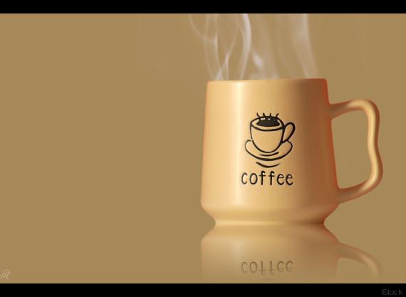 acordar com o cheiro de café