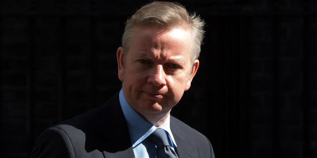 LONDON, ENGLAND - JUNE 03:    Education Secretary Michael Gove leaves leaves Downing Street for Prime Minister's Questions in Parliament on June 3, 2015 in London, England. Mr Cameron is due to face questions from the Acting Leader of the Labour party, Harriet Harman. (Photo by Carl Court/Getty Images)