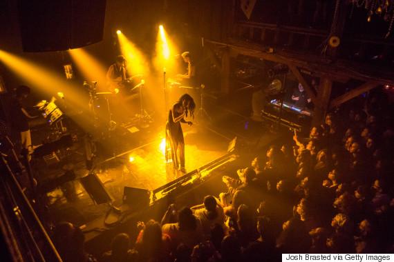 fka twigs performing 2014