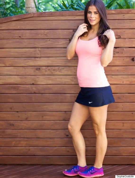 Weightlifter Pregnant With Twins Wants To Dispel Pregnancy Exercise Myths