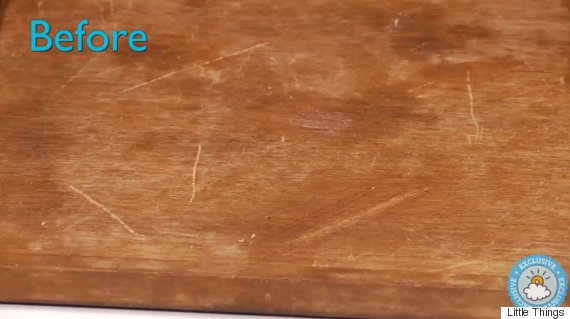 How To Remove Scratches From Wooden Furniture Using Nuts