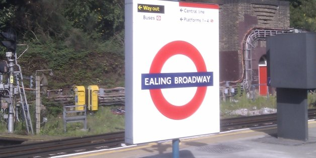 The deaths occurred at Ealing Broadway station on Tuesday