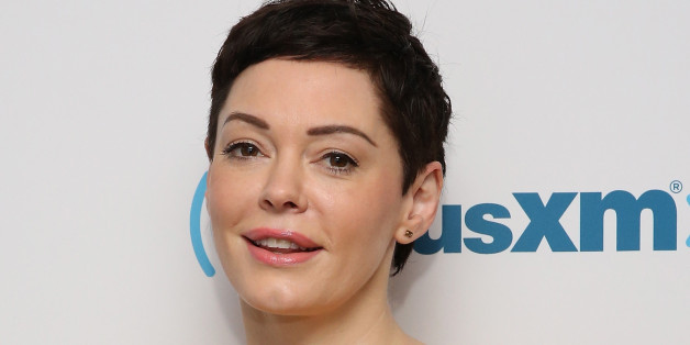 NEW YORK, NY - JUNE 23:  (EXCLUSIVE COVERAGE) Rose McGowan visits at SiriusXM Studios on June 23, 2015 in New York City.  (Photo by Robin Marchant/Getty Images)